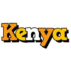 Kenya cartoon logo