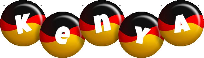 Kenya german logo