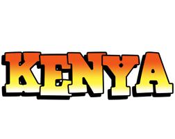 Kenya sunset logo