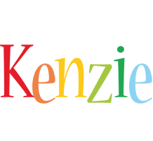 Kenzie birthday logo