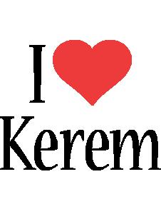 Kerem i-love logo