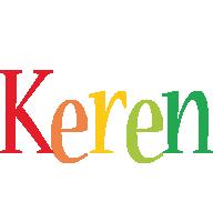 Keren birthday logo