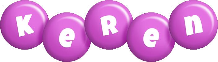 Keren candy-purple logo
