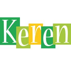 Keren lemonade logo