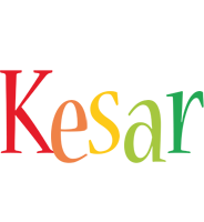 Kesar birthday logo