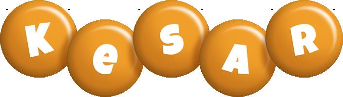 Kesar candy-orange logo