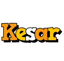 Kesar cartoon logo