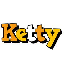 Ketty cartoon logo