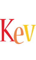 Kev birthday logo