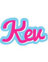 Kev popstar logo