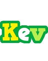 Kev soccer logo
