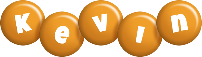 Kevin candy-orange logo
