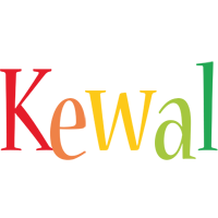 Kewal birthday logo
