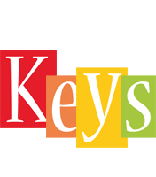 Keys colors logo