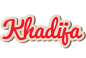 Khadija chocolate logo