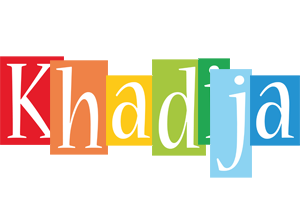 Khadija colors logo