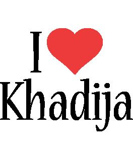 Khadija i-love logo