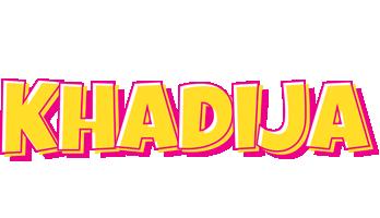 Khadija kaboom logo