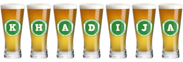 Khadija lager logo