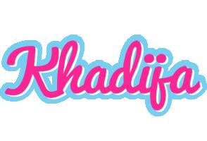 Khadija popstar logo