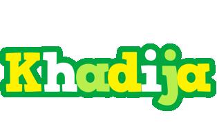 Khadija soccer logo