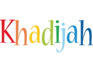 Khadijah birthday logo