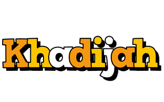 Khadijah cartoon logo