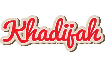 Khadijah chocolate logo