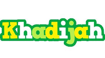 Khadijah soccer logo