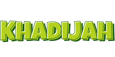 Khadijah summer logo