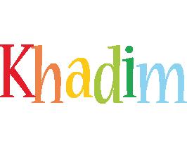 Khadim birthday logo