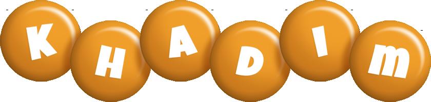 Khadim candy-orange logo
