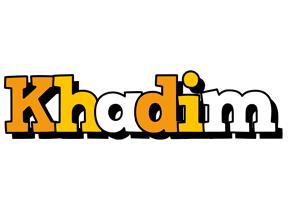 Khadim cartoon logo