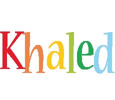 Khaled birthday logo