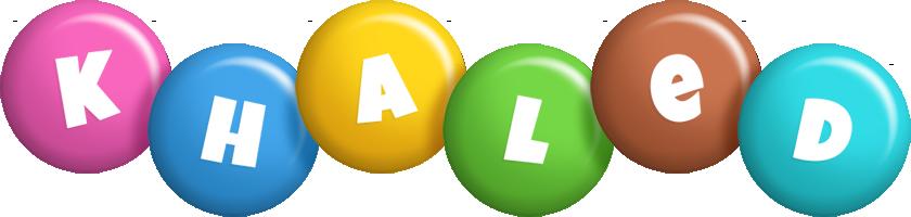 Khaled candy logo