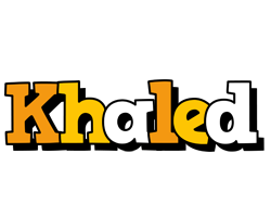 Khaled cartoon logo