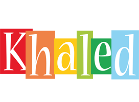 Khaled colors logo