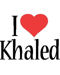 Khaled i-love logo