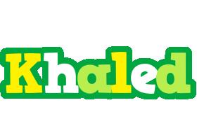 Khaled soccer logo