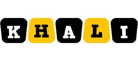 Khali boots logo