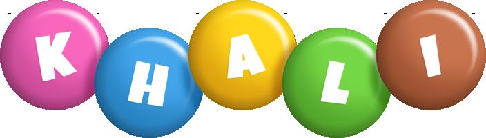 Khali candy logo