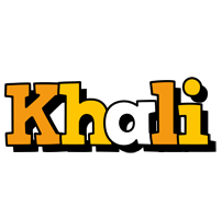 Khali cartoon logo