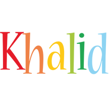 Khalid birthday logo