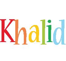 Khalid birthday logo