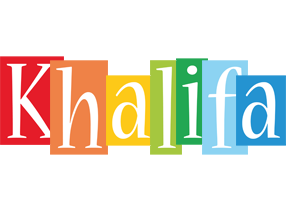 Khalifa colors logo