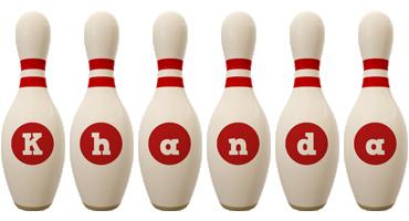 Khanda bowling-pin logo