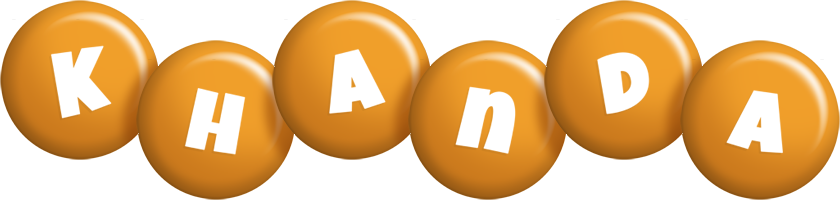 Khanda candy-orange logo