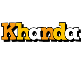 Khanda cartoon logo