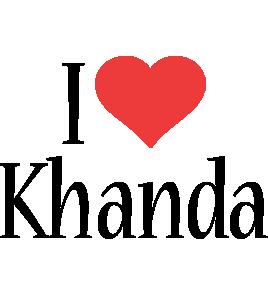 Khanda i-love logo