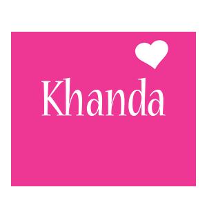 Khanda love-heart logo